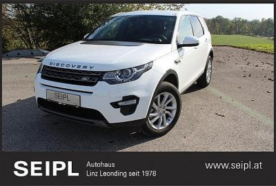Land Rover Discovery Sport 2,0 TD4 150 4WD SE Aut. bei Autohaus SEIPL GmbH in